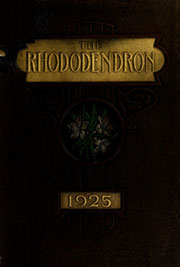 Appalachian State University - Rhododendron Yearbook (Boone, NC) online yearbook collection, 1925 Edition, Cover