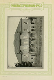 Page 11, 1925 Edition, Appalachian State University - Rhododendron Yearbook (Boone, NC) online yearbook collection
