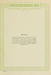 Page 7, 1925 Edition, Appalachian State University - Rhododendron Yearbook (Boone, NC) online yearbook collection