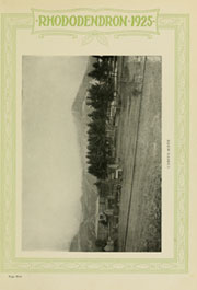 Page 9, 1925 Edition, Appalachian State University - Rhododendron Yearbook (Boone, NC) online yearbook collection