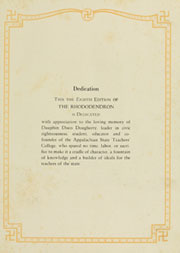 Appalachian State University - Rhododendron Yearbook (Boone, NC) online yearbook collection, 1930 Edition, Page 7