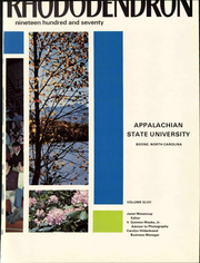 Page 7, 1970 Edition, Appalachian State University - Rhododendron Yearbook (Boone, NC) online yearbook collection