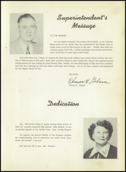 Page 7, 1954 Edition, Apple Springs High School - Eagle Yearbook (Apple Springs, TX) online yearbook collection