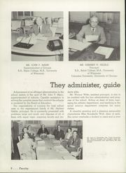 Page 12, 1956 Edition, Appleton High School - Clarion Yearbook (Appleton, WI) online yearbook collection