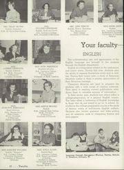 Page 14, 1956 Edition, Appleton High School - Clarion Yearbook (Appleton, WI) online yearbook collection