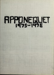 Apponequet High School - Polarion Yearbook (Lakeville, MA) online yearbook collection, 1976 Edition, Page 5 of 192