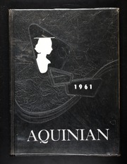 Aquinas Academy - Aquinan Yearbook (Tacoma, WA) online yearbook collection, 1961 Edition, Cover