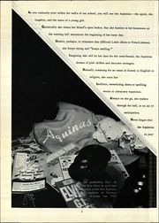 Page 6, 1961 Edition, Aquinas Academy - Aquinan Yearbook (Tacoma, WA) online yearbook collection