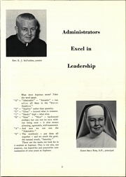 Page 7, 1961 Edition, Aquinas Academy - Aquinan Yearbook (Tacoma, WA) online yearbook collection
