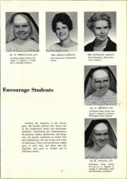 Page 9, 1961 Edition, Aquinas Academy - Aquinan Yearbook (Tacoma, WA) online yearbook collection