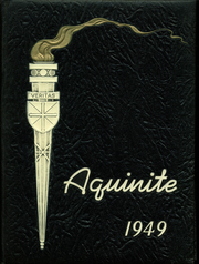 Aquinas High School - Aquinite Yearbook (Bronx, NY) online yearbook collection, 1949 Edition, Cover