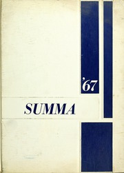 Aquinas High School - Summa Yearbook (San Bernardino, CA) online yearbook collection, 1967 Edition, Cover
