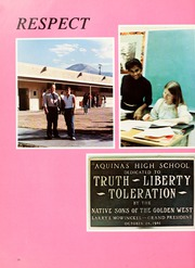 Page 14, 1982 Edition, Aquinas High School - Summa Yearbook (San Bernardino, CA) online yearbook collection