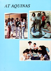 Page 6, 1982 Edition, Aquinas High School - Summa Yearbook (San Bernardino, CA) online yearbook collection