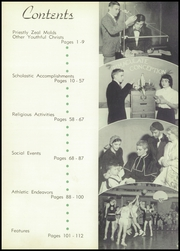 Page 9, 1954 Edition, Aquinas High School - Trumpet Yearbook (La Crosse, WI) online yearbook collection