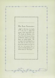 Page 13, 1928 Edition, Aquinas Institute - Arete Yearbook (Rochester, NY) online yearbook collection