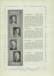 Page 17, 1928 Edition, Aquinas Institute - Arete Yearbook (Rochester, NY) online yearbook collection