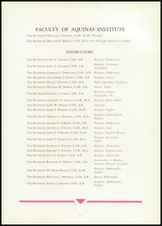 Page 15, 1944 Edition, Aquinas Institute - Arete Yearbook (Rochester, NY) online yearbook collection