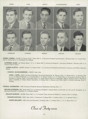 Aquinas Institute - Arete Yearbook (Rochester, NY) online yearbook collection, 1947 Edition, Page 18