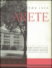 Page 7, 1950 Edition, Aquinas Institute - Arete Yearbook (Rochester, NY) online yearbook collection
