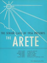 Aquinas Institute - Arete Yearbook (Rochester, NY) online yearbook collection, 1956 Edition, Page 5