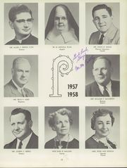 Aquinas Institute - Arete Yearbook (Rochester, NY) online yearbook collection, 1958 Edition, Page 17 of 146