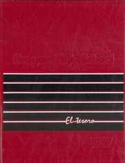 Aragon High School - El Tesoro Yearbook (San Mateo, CA) online yearbook collection, 1987 Edition, Cover