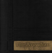 Arcadia High School - Arcadian Yearbook (Arcadia, OH) online yearbook collection, 1936 Edition, Cover