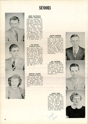 Page 14, 1953 Edition, Arcadia High School - Arcadian Yearbook (Arcadia, OH) online yearbook collection