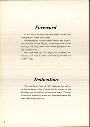 Page 6, 1953 Edition, Arcadia High School - Arcadian Yearbook (Arcadia, OH) online yearbook collection