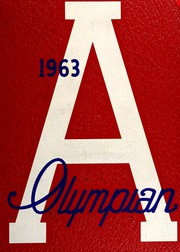Arcadia High School - Olympian Yearbook (Phoenix, AZ) online yearbook collection, 1963 Edition, Cover