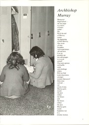 Page 11, 1971 Edition, Archbishop Murray Memorial High School - Verbum (Maplewood, MN) online yearbook collection