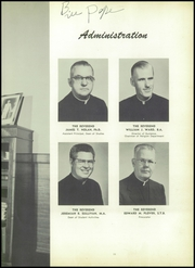 Page 15, 1955 Edition, Archbishop Stepinac High School - Shepherd Yearbook (White Plains, NY) online yearbook collection