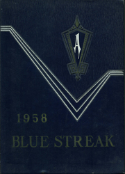 Archbold High School - Blue Streak Yearbook (Archbold, OH) online yearbook collection, 1958 Edition, Cover