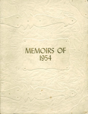 Arcola High School - Quotanis Yearbook (Arcola, IN) online yearbook collection, 1954 Edition, Cover