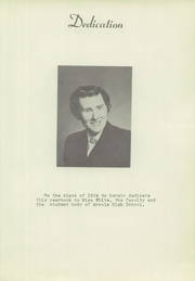 Page 9, 1954 Edition, Arcola High School - Quotanis Yearbook (Arcola, IN) online yearbook collection