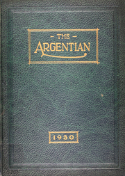 Argentine High School - Mustang Yearbook (Kansas City, KS) online yearbook collection, 1930 Edition, Cover