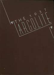 Argo Community High School - Argolite Yearbook (Argo, IL) online yearbook collection, 1937 Edition, Cover