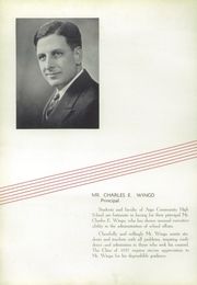 Page 12, 1937 Edition, Argo Community High School - Argolite Yearbook (Argo, IL) online yearbook collection