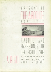 Page 7, 1939 Edition, Argo Community High School - Argolite Yearbook (Argo, IL) online yearbook collection
