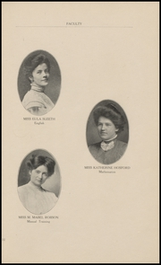 Page 15, 1908 Edition, Arkansas City High School - Mirror Yearbook (Arkansas City, KS) online yearbook collection