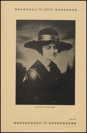 Arkansas City High School - Mirror Yearbook (Arkansas City, KS) online yearbook collection, 1919 Edition, Page 9 of 120