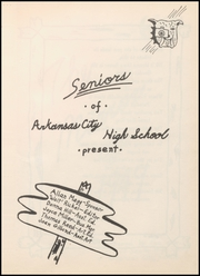 Arkansas City High School - Mirror Yearbook (Arkansas City, KS) online yearbook collection, 1949 Edition, Page 7
