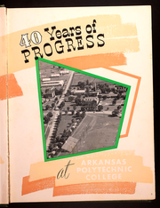 Page 7, 1950 Edition, Arkansas Tech University - Agricola Yearbook (Russellville, AR) online yearbook collection