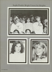 Arlington Heights High School - Yellow Jacket Yearbook (Fort Worth, TX) online yearbook collection, 1984 Edition, Page 92