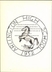 Page 8, 1952 Edition, Arlington High School - Colt Corral Yearbook (Arlington, TX) online yearbook collection