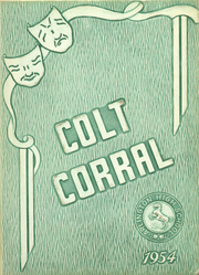 Arlington High School - Colt Corral Yearbook (Arlington, TX) online yearbook collection, 1954 Edition, Cover