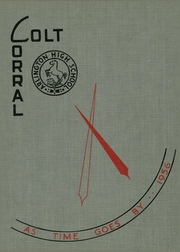 Arlington High School - Colt Corral Yearbook (Arlington, TX) online yearbook collection, 1956 Edition, Cover