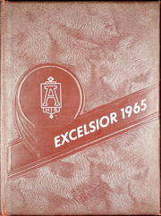 Arlington High School - Excelsior Yearbook (Arlington, OH) online yearbook collection, 1965 Edition, Cover