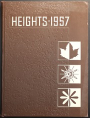 Arlington High School - Heights Yearbook (Arlington Heights, IL) online yearbook collection, 1957 Edition, Cover